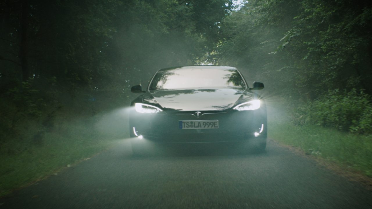 Tesla Spec Werbespot ESCAPE Filmproduktion